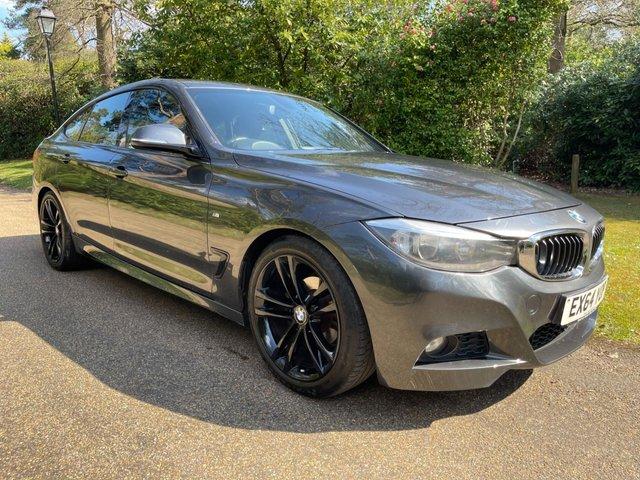 USED 2014 64 BMW 3 SERIES 2.0 318D M SPORT GRAN TURISMO 5d 141 BHP