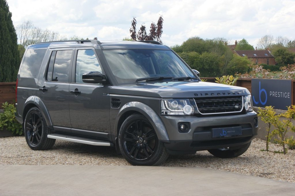 USED 2014 64 LAND ROVER DISCOVERY 4 3.0 SDV6 HSE 5d 255 BHP Black Pack Side Steps Privacy