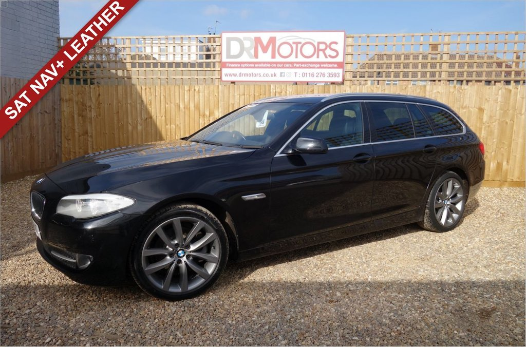 USED 2011 11 BMW 5 SERIES 2.0 520D SE TOURING 5d 181 BHP *** 6 MONTHS NATIONWIDE GOLD WARRANTY ***