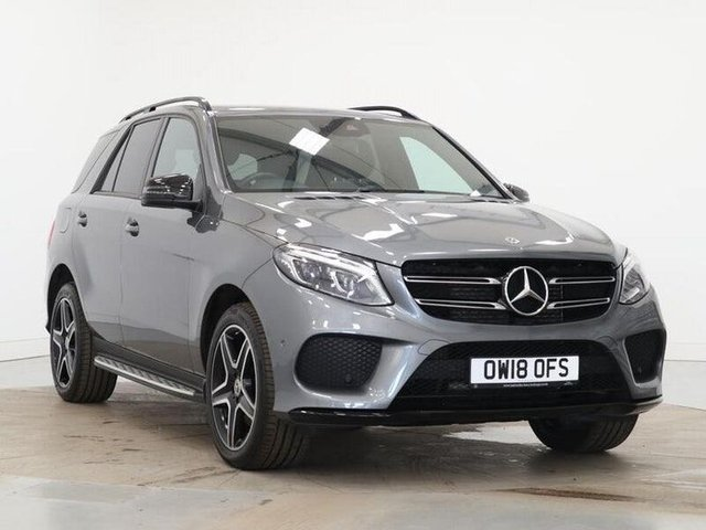 2018 18 MERCEDES-BENZ GLE-CLASS 2.1 GLE 250 D 4MATIC AMG NIGHT EDITION 5d 201 BHP