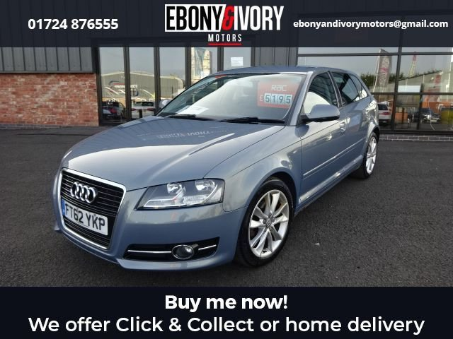 USED 2013 62 AUDI A3 1.6 TDI SPORT 5d 103 BHP + FULL SERVICE HISTORY + 1 YEAR MOT AND BREAKDOWN COVER