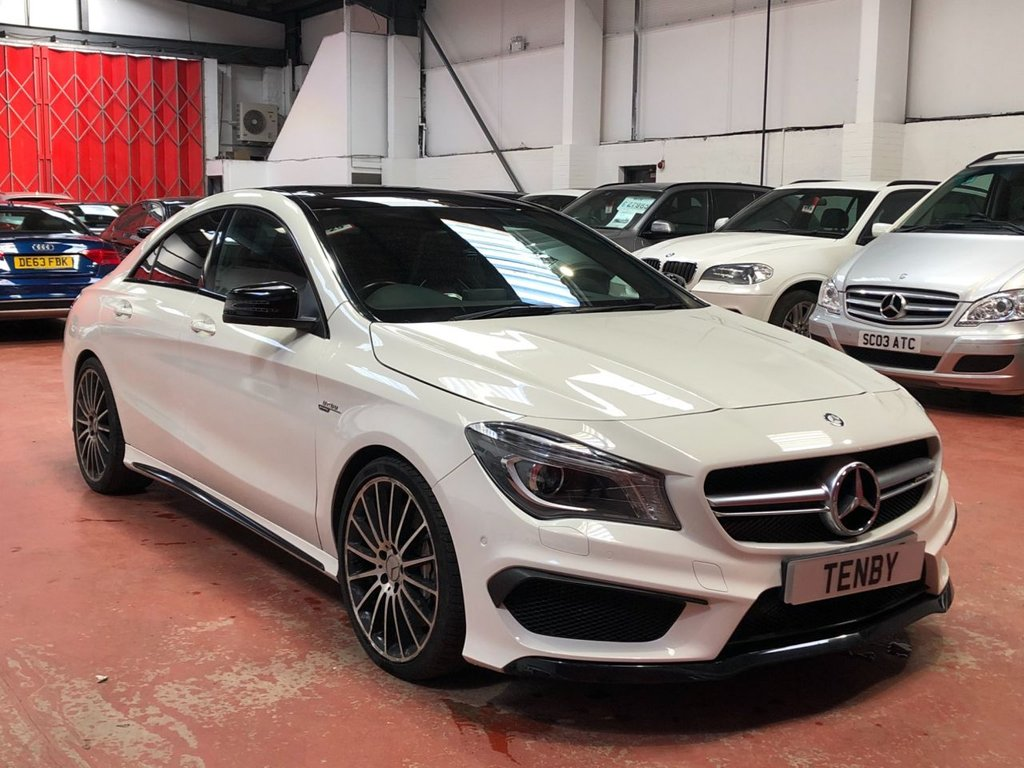 USED 2015 15 MERCEDES-BENZ CLA 2.0 CLA45 AMG 4MATIC 4d AUTO 360 BHP
