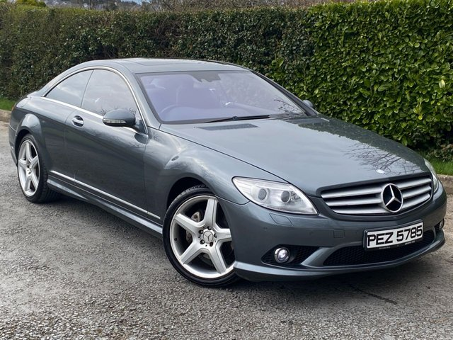 USED 2007 MERCEDES-BENZ CL 5.5 CL 500 2d 383 BHP