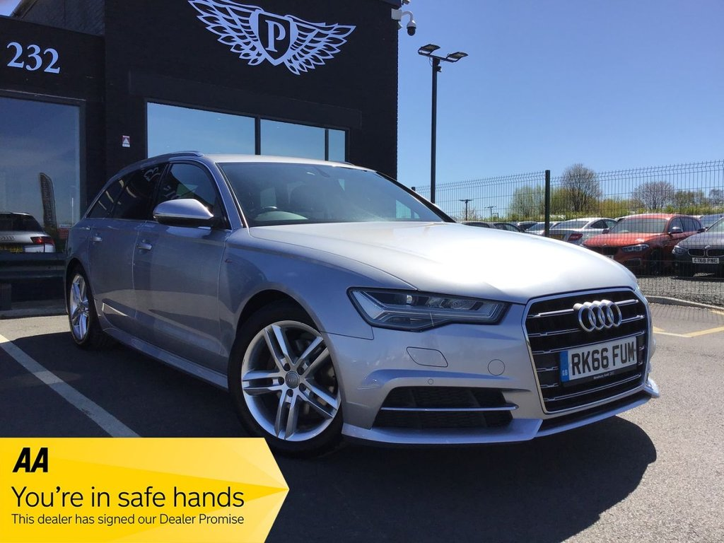 USED 2016 66 AUDI A6 2.0 AVANT TDI ULTRA S LINE 5d 188 BHP NATIONWIDE DELIVERY AVAILABLE, 14 DAY MONEY BACK GUARANTEE, RESERVE ONLINE TODAY