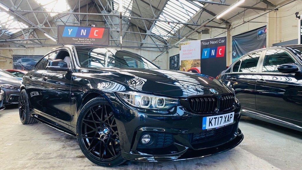 USED 2017 17 BMW 4 SERIES 2.0 420d M Sport Gran Coupe Auto (s/s) 5dr PERFORMANCEKIT+20S+APPLECARPLY
