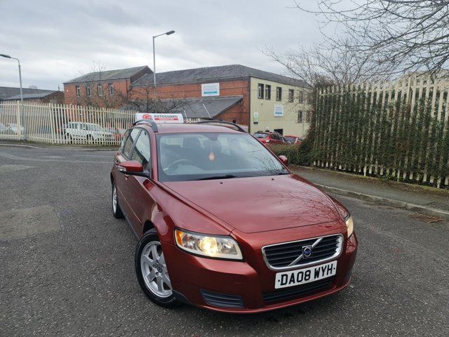 USED 2008 08 VOLVO V50 1.6 S D 5d 109 BHP A GREAT ESTATE