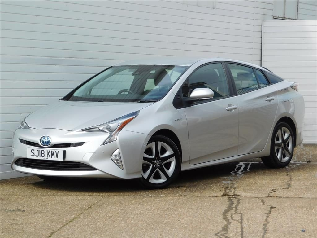 USED 2018 18 TOYOTA PRIUS 1.8 VVT-I EXCEL 5d 97 BHP Buy Online Moneyback Guarantee