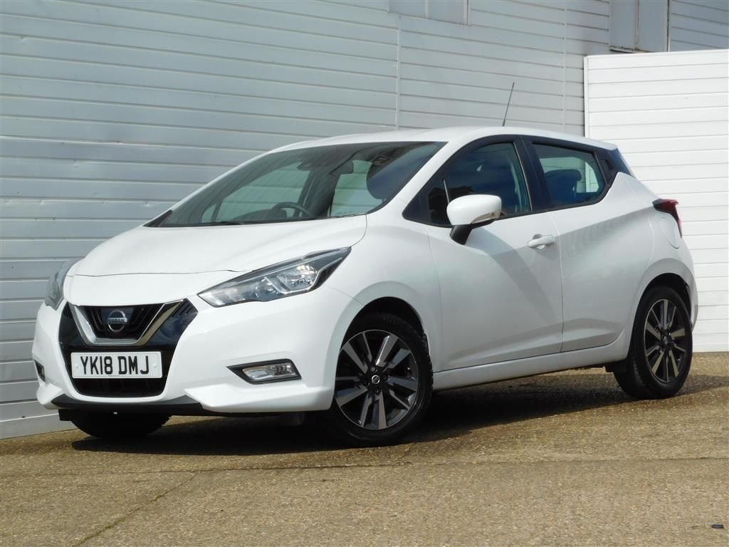 USED 2018 18 NISSAN MICRA 1.0 ACENTA LIMITED EDITION 5d 70 BHP Buy Online Moneyback Guarantee