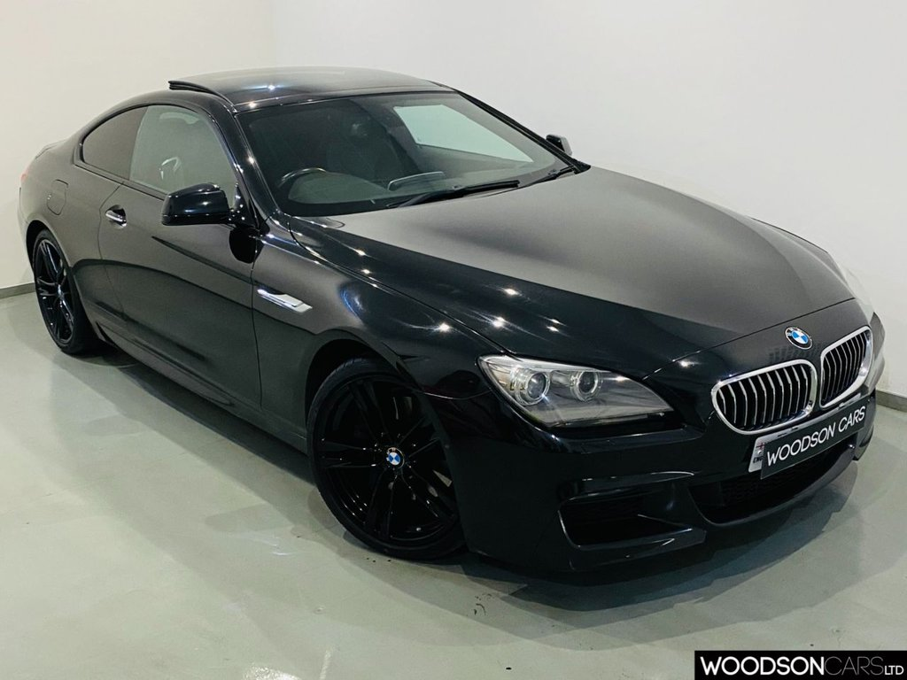 USED 2011 61 BMW 6 SERIES 3.0 640D M SPORT 2d 309 BHP Sunroof / 360 Camera / Black Alloys / 1 Previous Owner / BMW Service History