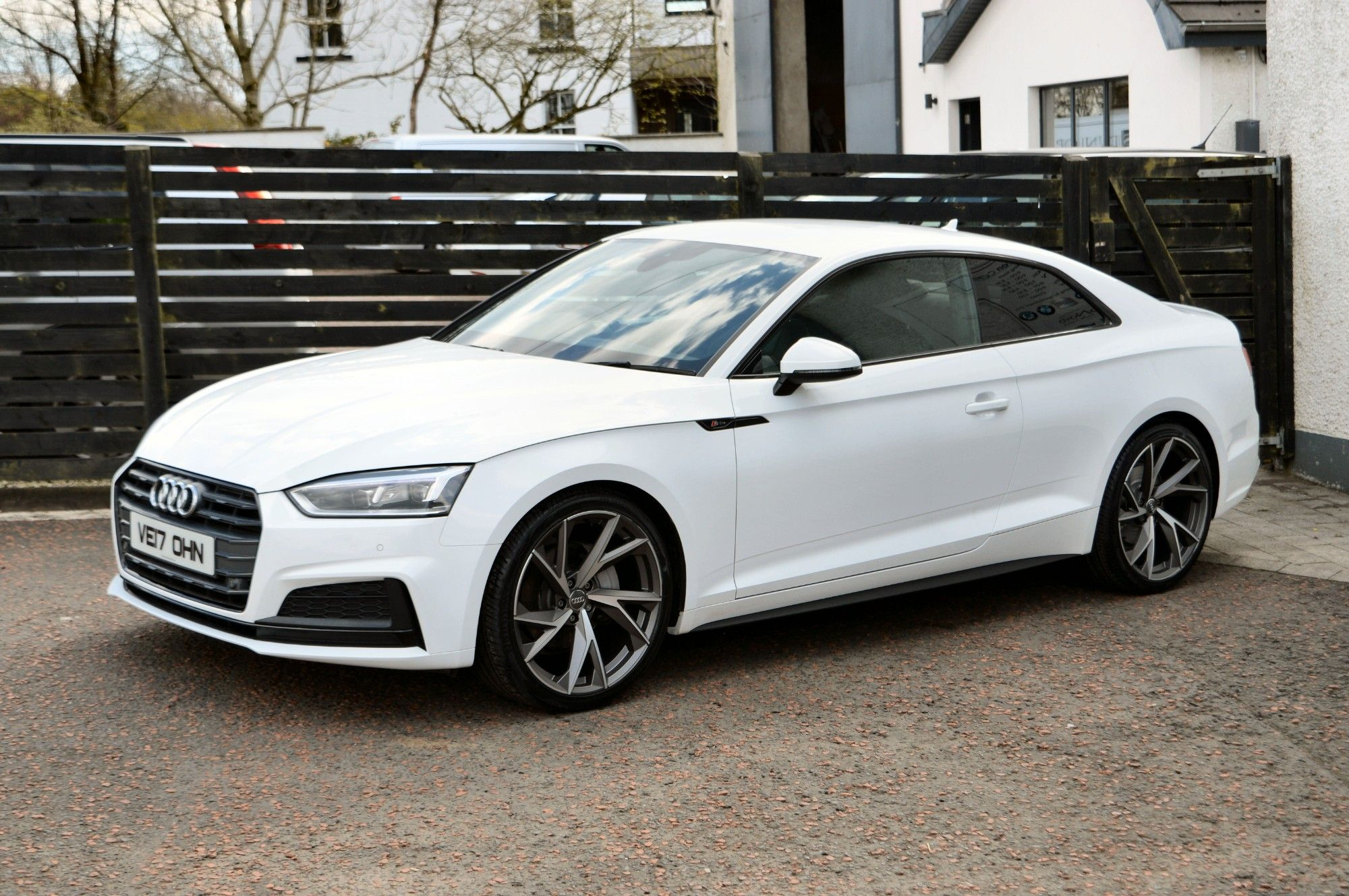 USED 2017 17 AUDI A5 2.0 TDI S LINE 2d 188 BHP 6 MONTHS RAC WARRANTY FREE + 12 MONTHS ROAD SIDE RECOVERY!