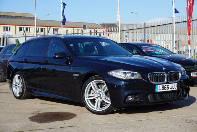 USED 2016 66 BMW 5 SERIES 2.0 520D M SPORT TOURING 5d 188 BHP AWAITING ARRIVAL