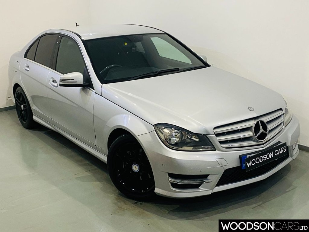 USED 2012 62 MERCEDES-BENZ C-CLASS 2.1 C220 CDI BLUEEFFICIENCY AMG SPORT 4d 168 BHP 2 Previous Owners / Bluetooth / Parking Sensors / Privacy Glass / Black Alloy Wheels