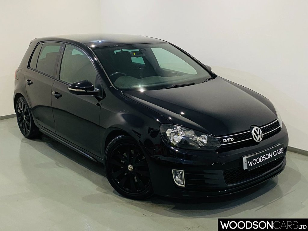 USED 2010 59 VOLKSWAGEN GOLF 2.0 GTD TDI 5d 170 BHP 2 Previous Owners / Privacy Glass / Black Alloy Wheels