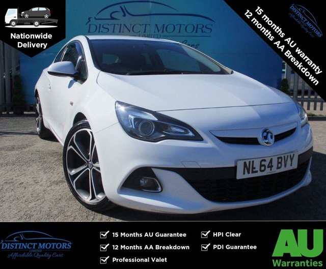 USED 2014 64 VAUXHALL ASTRA GTC 2.0 LIMITED EDITION CDTI S/S 3d 162 BHP