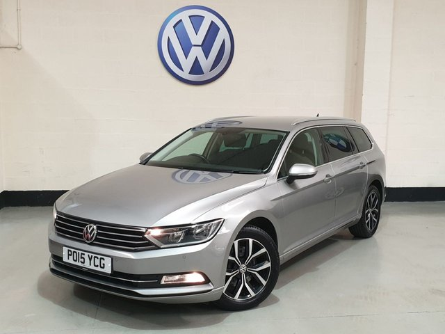 "USED 2015 15 VOLKSWAGEN PASSAT 2.0 SE BUSINESS TDI BLUEMOTION TECHNOLOGY 5d 148 BHP 1 Owner/Sat-Nav/ Front &  Rear Park Sensors / 17""Alloys"