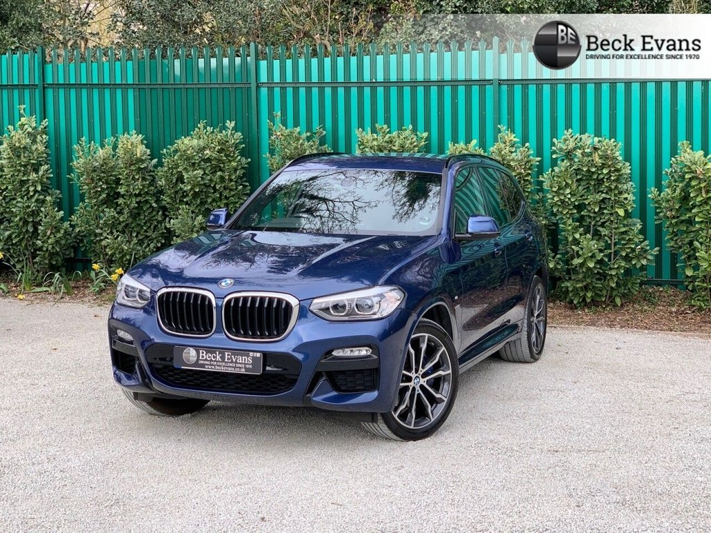 USED 2018 18 BMW X3 2.0 XDRIVE20D M SPORT 5d 188 BHP VAT QUALIFYING