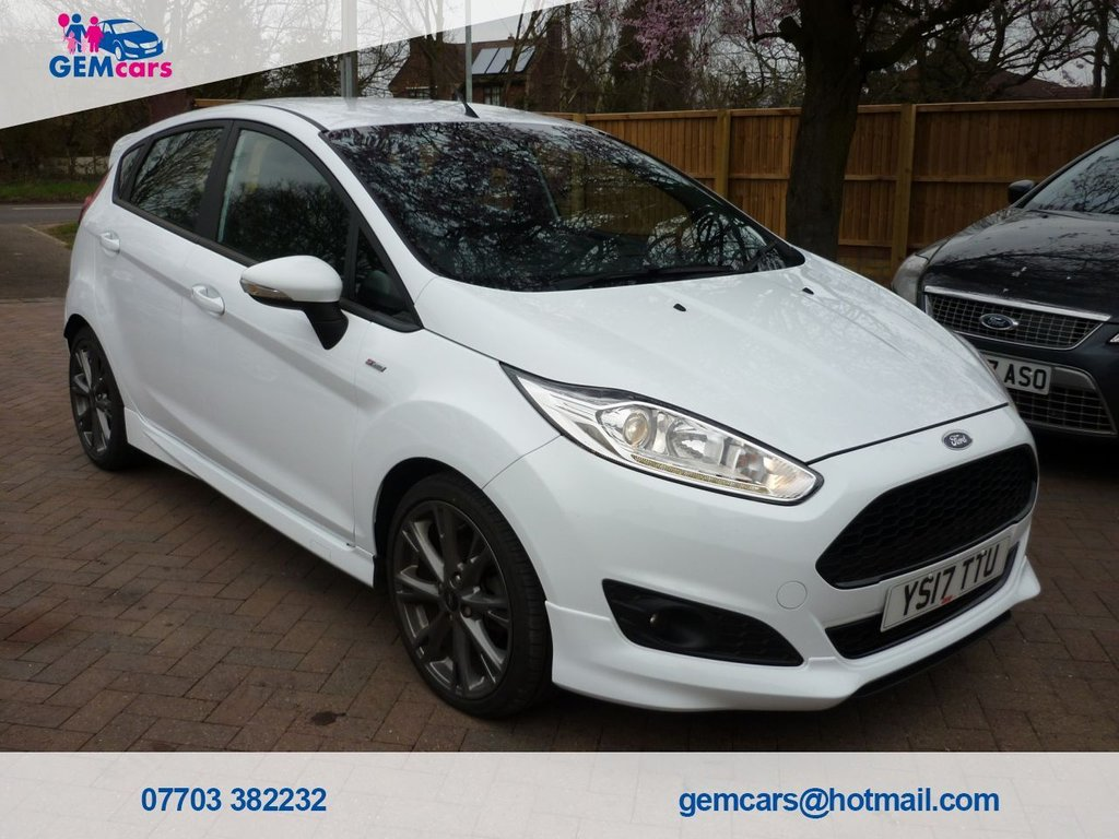 USED 2017 17 FORD FIESTA 1.5 ST-LINE TDCI 5d 94 BHP GO TO OUR WEBSITE TO WATCH A FULL WALKROUND VIDEO