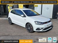 USED 2017 67 VOLKSWAGEN POLO 1.8 GTI 3d 189 BHP INTERLAGOS INTERIOR, FULL COLOUR SCREEN, MULTIMEDIA INTERFACE AND DAB RADIO, BLUETOOTH CONNECTIVITY
