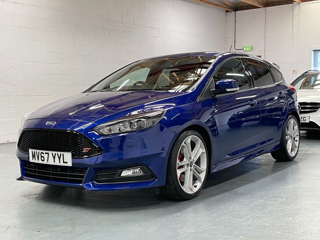 USED 2017 67 FORD FOCUS 2.0T EcoBoost ST-3 (s/s) 5dr