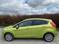 USED 2009 59 FORD FIESTA 1.6 TITANIUM 5d 118 BHP * 2 OWNERS FROM NEW * 12 MONTHS FREE AA MEMBERSHIP * LOW MILEAGE CAR *