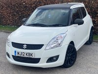 USED 2012 12 SUZUKI SWIFT 1.2 SZ3 ATTITUDE 3d FULL SERVICE HISTORY, 12 MONTHS MOT, AIR CONDITIONING, ELECTRIC MIRRORS