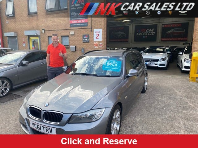 2011 61 BMW 3 SERIES 2.0 320D M SPORT TOURING 5d 181 BHP SOLD TO ALAN FROM DERBY