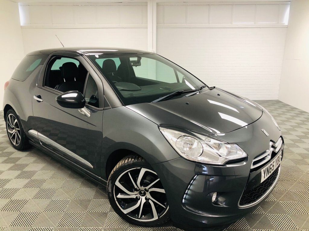 USED 2015 65 DS DS 3 1.6 BLUEHDI DSTYLE NAV S/S 3d 98 BHP £145 a month, T&C's apply.