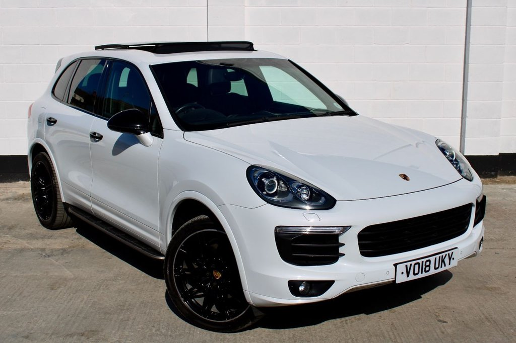 USED 2018 18 PORSCHE CAYENNE 3.0 D V6 PLATINUM EDITION TIPTRONIC S 5d 258 BHP OVER £16K WORTH OF EXTRA'S