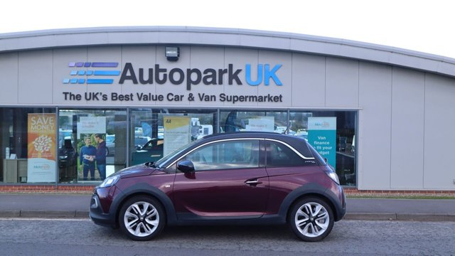 USED 2015 65 VAUXHALL ADAM 1.2 ROCKS AIR 3d 69 BHP LOW DEPOSIT OR NO DEPOSIT FINANCE AVAILABLE . COMES USABILITY INSPECTED WITH 30 DAYS USABILITY WARRANTY + LOW COST 12 MONTHS ESSENTIALS WARRANTY AVAILABLE FROM ONLY £199 (VANS AND 4X4 £299) DETAILS ON REQUEST. ALWAYS DRIVING DOWN PRICES . BUY WITH CONFIDENCE . OVER 1000 GENUINE GREAT REVIEWS OVER ALL PLATFORMS FROM GOOD HONEST CUSTOMERS YOU CAN TRUST .