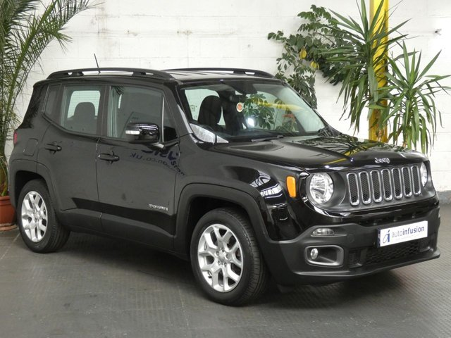 2016 66 JEEP RENEGADE 1.4 LONGITUDE 5d 138 BHP