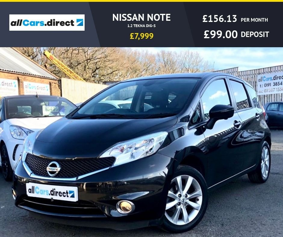 USED 2015 65 NISSAN NOTE 1.2 TEKNA DIG-S