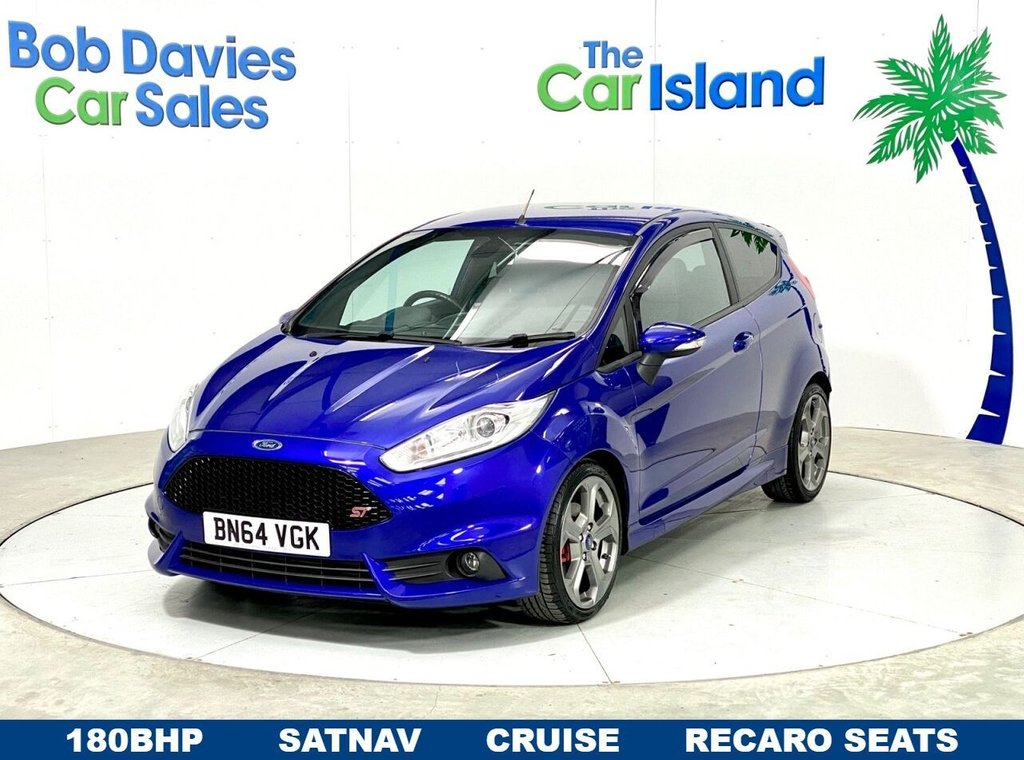 USED 2014 64 FORD FIESTA 1.6 ST-3 3d 180 BHP Sporty 180BHP with Half Leather Recaro Seats 31000miles