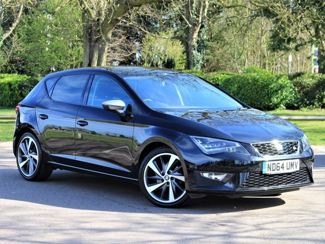 USED 2014 64 SEAT LEON 1.4 TSI FR TECHNOLOGY 5d 140 BHP £177 PCM With £999 Deposit