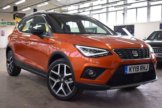 USED 2019 19 SEAT ARONA 1.0 TSI XCELLENCE LUX 5d 114 BHP + 1 OWNER  +  FULL SERVICE HISTORY +  MANUFACTURERS WARRANTY +