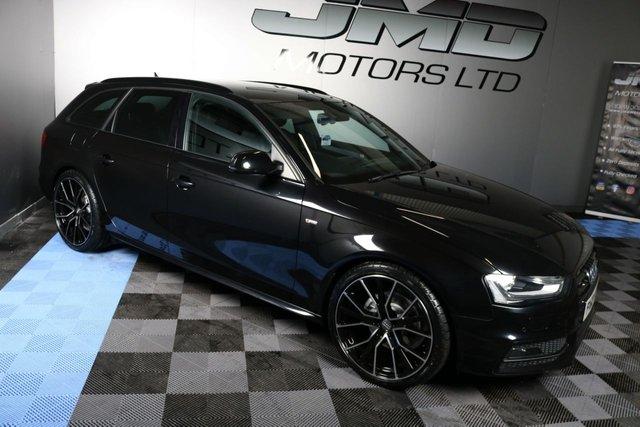 USED 2013 13 AUDI A4 2013 AUDI A4 2.0 TDI AVANT S LINE BLACK EDITION STYLE 141 BHP AUTO (FINANCE AND WARRANTY)