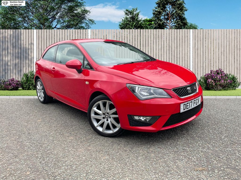 USED 2017 17 SEAT IBIZA 1.2 TSI FR TECHNOLOGY 3d 89 BHP