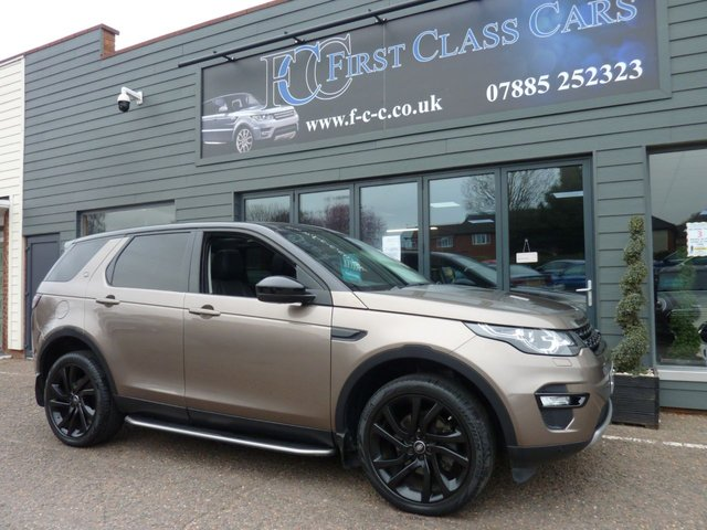 2015 15 LAND ROVER DISCOVERY SPORT 2.2 SD4 HSE BLACK EDITION 5d 190 BHP