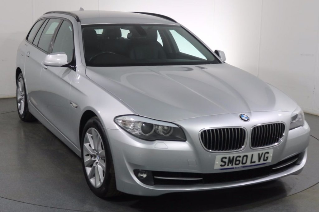 USED 2010 60 BMW 5 SERIES 2.0 520d SE TOURING 5dr 8 Stamp SERVICE HISTORY