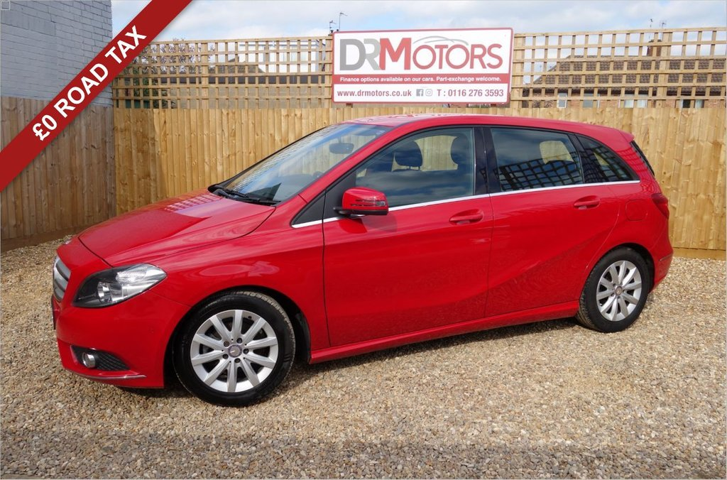 USED 2014 14 MERCEDES-BENZ B-CLASS 1.5 B180 CDI ECO SE 5d 109 BHP *** 6 MONTHS NATIONWIDE GOLD WARRANTY ***