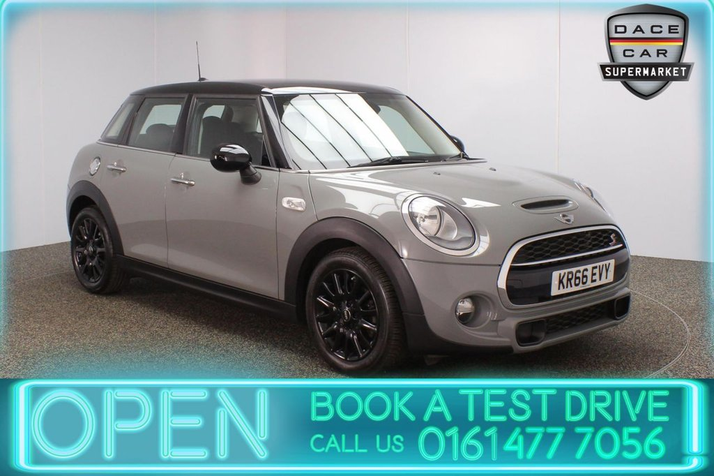 USED 2017 66 MINI HATCH COOPER 2.0 COOPER SD 5DR 1 OWNER 168 BHP FULL SERVICE HISTORY + £20 12 MONTHS ROAD TAX + BLUETOOTH + AIR CONDITIONING + DAB RADIO + ELECTRIC WINDOWS + ELECTRIC DOOR MIRRORS + BLACK ALLOY WHEELS