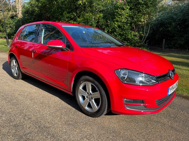 USED 2014 64 VOLKSWAGEN GOLF 1.4 MATCH TSI BLUEMOTION TECHNOLOGY 5d 120 BHP