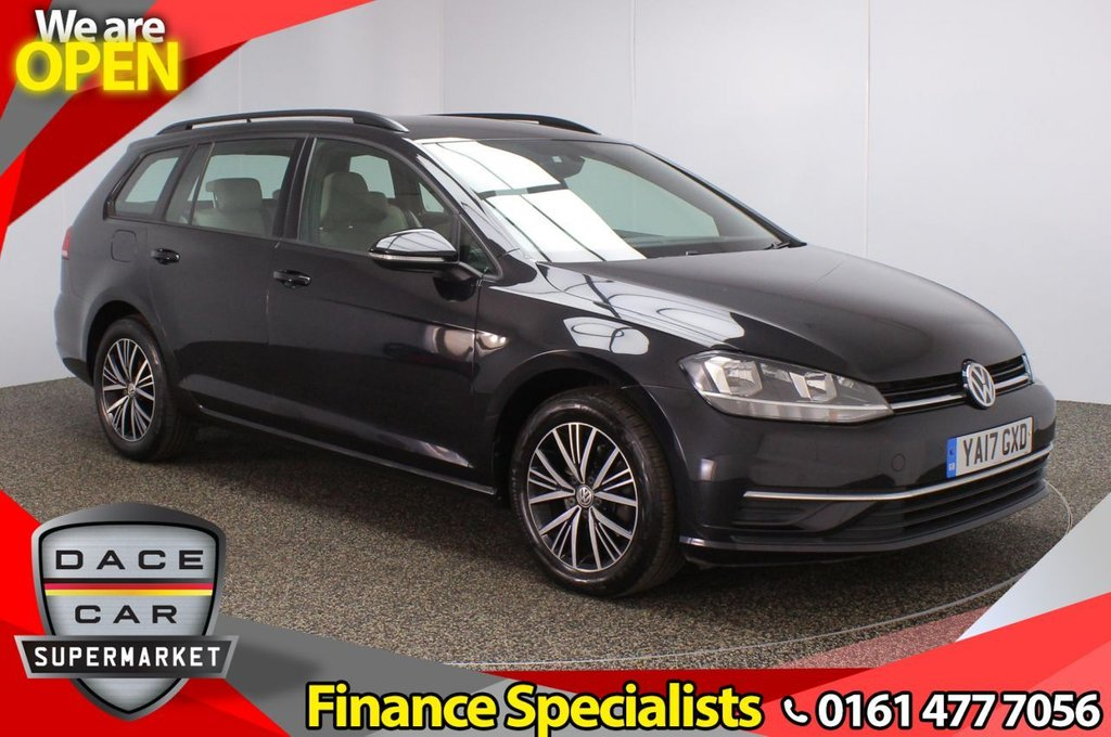 USED 2017 17 VOLKSWAGEN GOLF 1.6 SE NAVIGATION TDI BLUEMOTION TECHNOLOGY DSG 5DR 1 OWNER AUTO 114 BHP FULL SERVICE HISTORY + SATELLITE NAVIGATION + PARKING SENSOR + BLUETOOTH + CRUISE CONTROL + MULTI FUNCTION WHEEL + AIR CONDITIONING + DAB RADIO + AUX/USB/SD PORTS + ELECTRIC WINDOWS + ELECTRIC/HEATED/FOLDING DOOR MIRRORS + 16 INCH ALLOY WHEELS