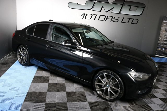 2012 12 BMW 3 SERIES LATE 2012 BMW 320D EFFICIENTDYNAMICS M PERFORMANCE KITTED 161 BHP (FINANCE AND WARRANTY)