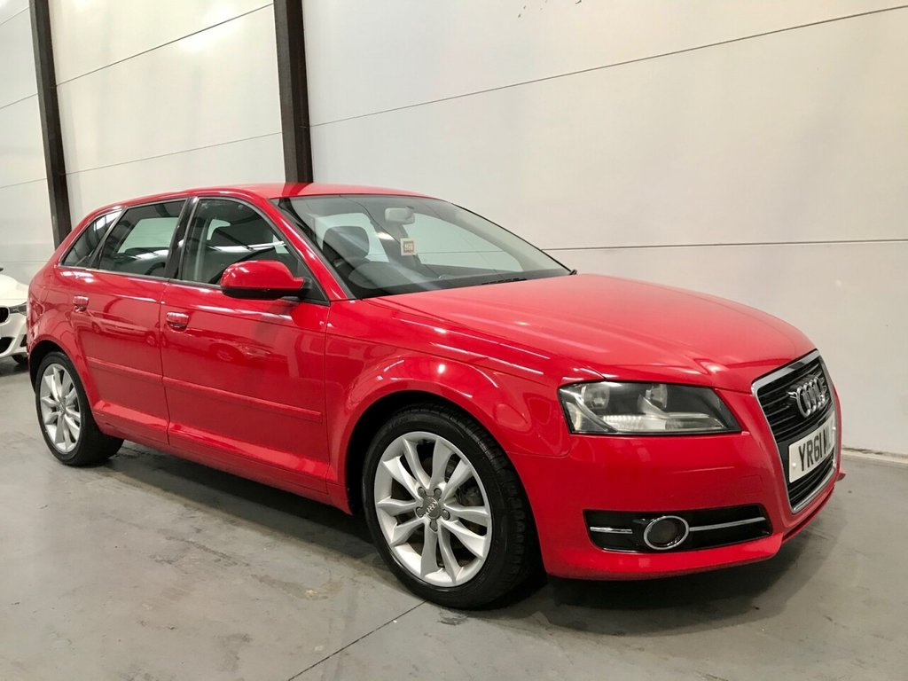 USED 2011 61 AUDI A3 2.0 SPORTBACK TDI SPORT 5d 138 BHP Lovely Condition & Superb MPG