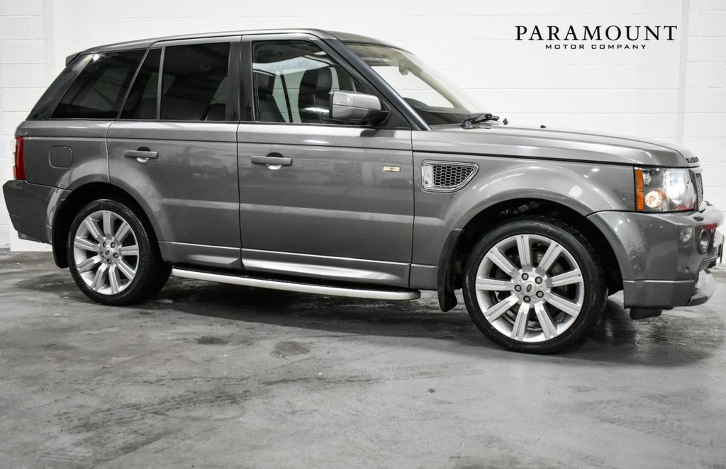 USED 2008 W LAND ROVER RANGE ROVER SPORT 3.6 TDV8 SPORT HST 5d 269 BHP