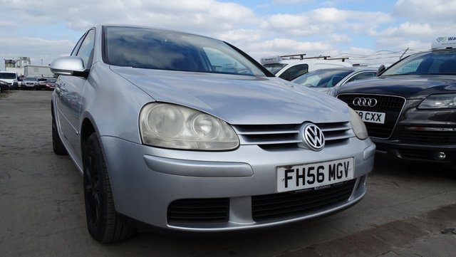 USED 2007 56 VOLKSWAGEN GOLF 1.9 MATCH TDI 5d 14 SERVICE STAMPS -A1 CAR