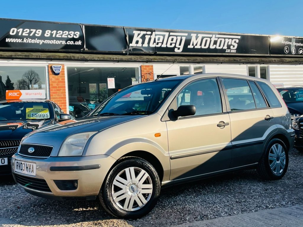 USED 2003 03 FORD FUSION 1.6 FUSION 3 5d 100 BHP