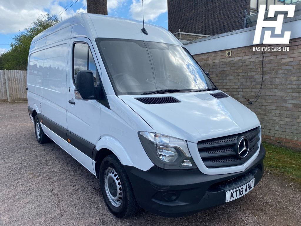USED 2018 18 MERCEDES-BENZ SPRINTER 2.1 314CDI 140 BHP EURO 6 ULEZ/1 OWNER/GREAT SPEC/1 OWNER/GREAT VALUE/GREAT CONDITION