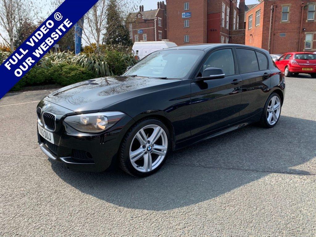 USED 2012 12 BMW 1 SERIES 2.0 118D M SPORT 5d 141 BHP