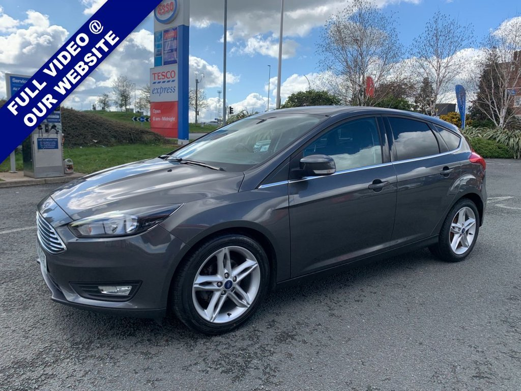 USED 2016 66 FORD FOCUS 1.5 ZETEC TDCI 5d 118 BHP
